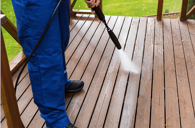 deck cleaning costa mesa