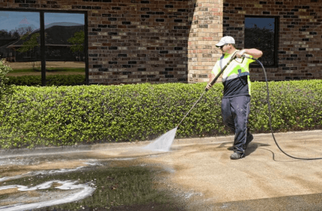 commercial concrete cleaning in costa mesa